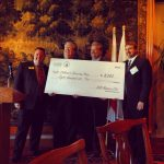 SAR Masters Club Dinner Check Presentation