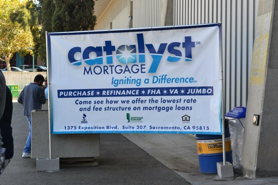 Fall Home Show Catalyst Mortgage Sign