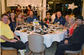 SAR Masters Club Dinner table